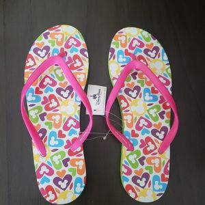 NWT size 9 Disneyland Mickey Flip Flops